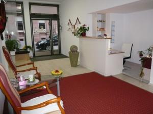 Empfangsbereich Sawasdee Thai-Massage-Praxis Karlsruhe