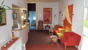 Eingangsbereich Sawasdee Thai-Massage-Praxis Karlsruhe